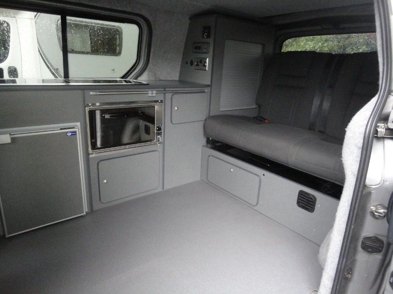 Hyundai ILoad 2 Berth Van Conversion Image 4