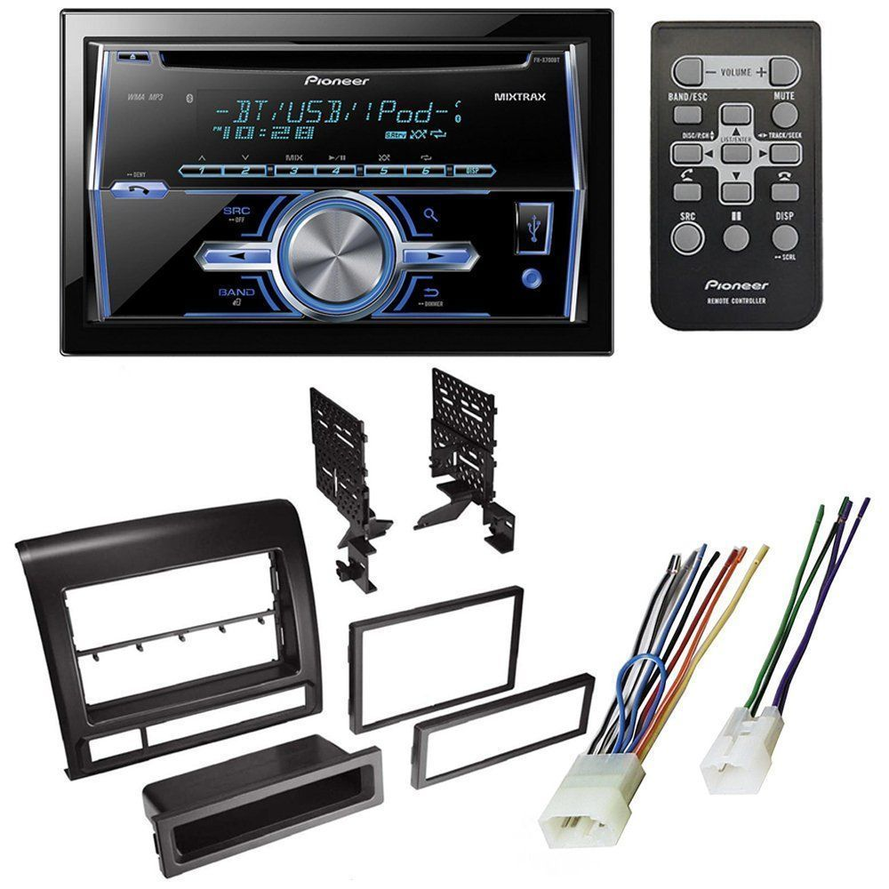 medium resolution of toyota tacoma 2005 2011 car stereo receiver radio dash installation mounting kit w wiring