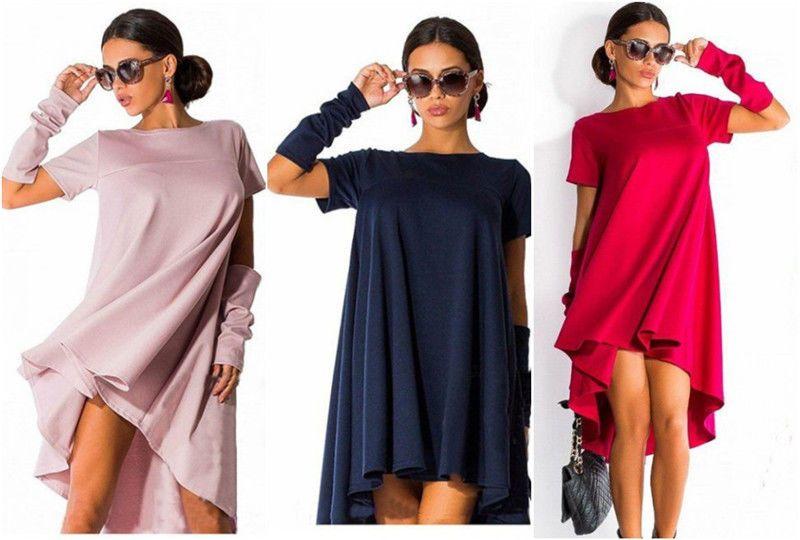 970626d94f89 Выкройка платья трапеция на кокетке с перепадом фото 2   fashion ...