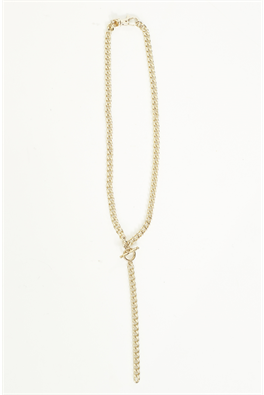 Moochi fob chain necklace.