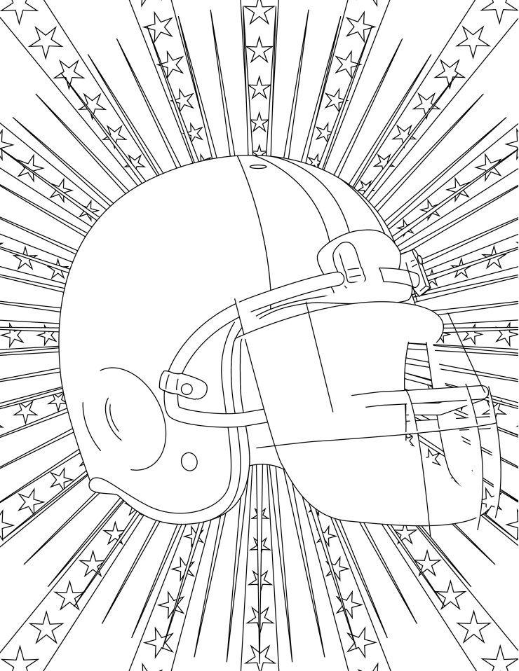 football, imprimer coloriage gratuit - dessin de maison a imprimer