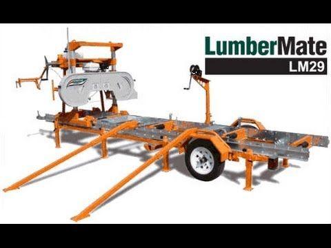 Norwood Lumbermate Lm29 Portable Band Sawmill Di Sawmills 2016 Hfe 30