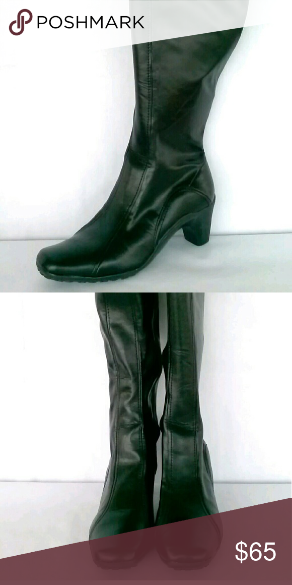 b9e705be42e Aerosoles Black Fashion Knee High Boots Sz 11 NEW BRAND  Aerosoles STYLE   Lasticity HEEL HEIGHT  medium 1 3 4 - 2 3 4 SKU  P1B9 Shoes Heeled Boots