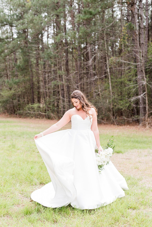 Hailey hunter southern church wedding in conway south carolina