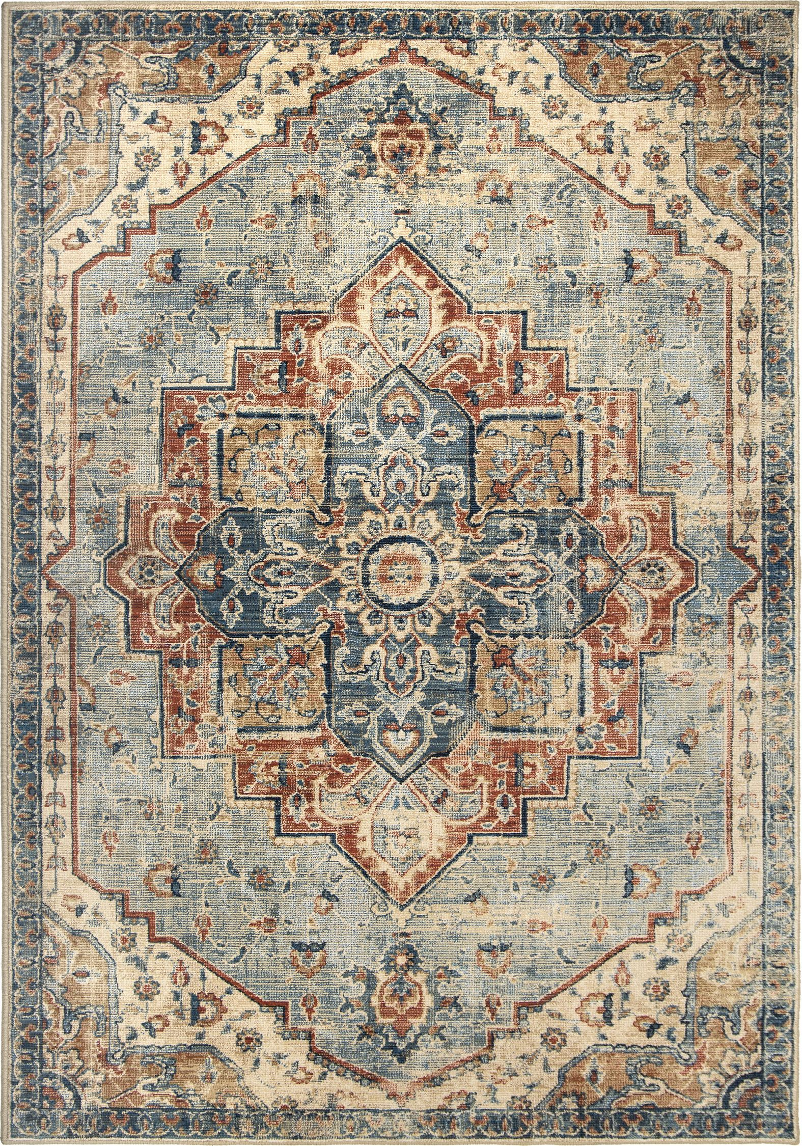 King Fisher Rug Color Pale Blue Size 7 10 X 10 10 In 2020