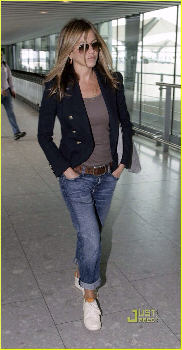 Airport fashion style