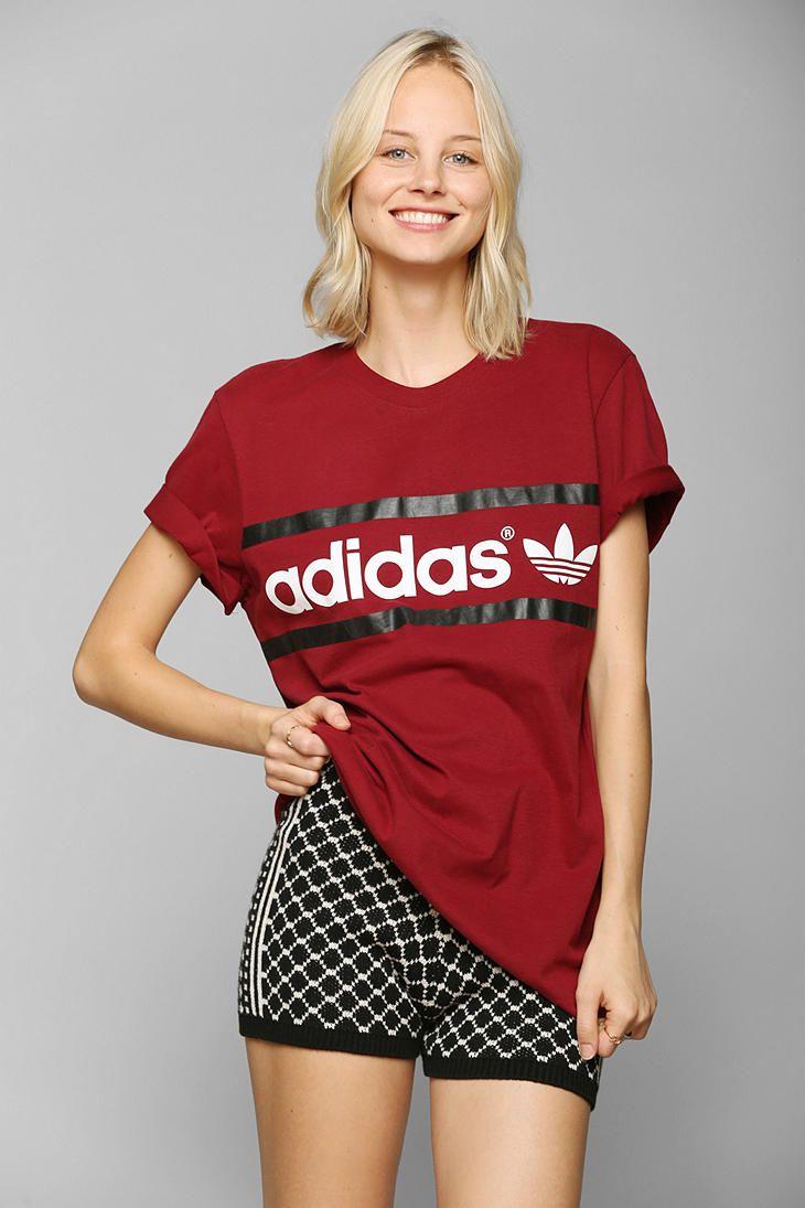 adidas Heritage Logo Tee #UrbanOutfitters
