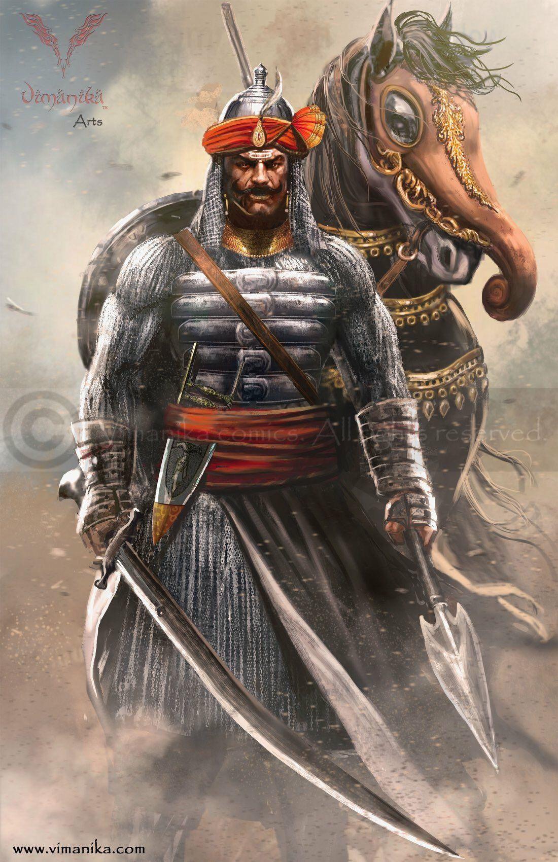 Maharana Pratap And Chetak Indian Legends Warriors Wallpaper Historical Warriors
