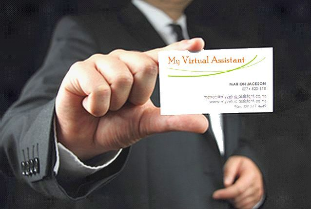 My Virtual Assistant Business Card Virtual Assistance Virtual