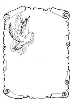 Caratulas En Pergamino Para Colorear Imagui Pergamino