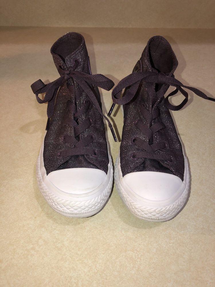 8ba6e6e18fd2 Converse Chuck Taylor Girls Size 13.5 Purple Silver Sparkle  fashion   clothing  shoes  accessories  kidsclothingshoesaccs  girlsshoes (ebay link)