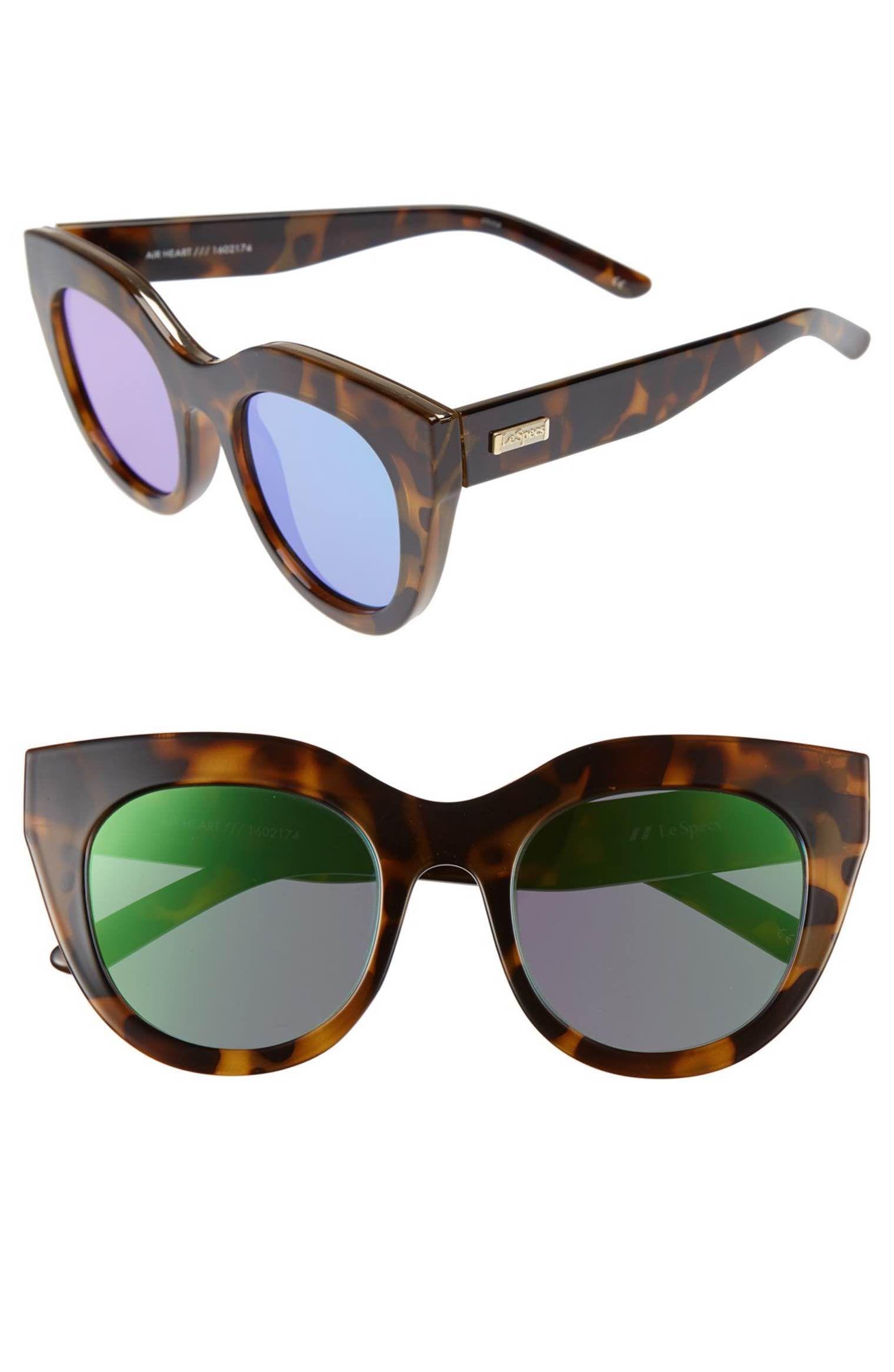 86c2b3d97d9cd Main Image - Le Specs Air Heart 51mm Sunglasses