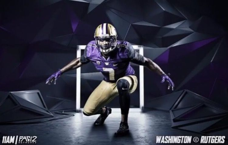University Of Washington Huskies Football Uniform Washington