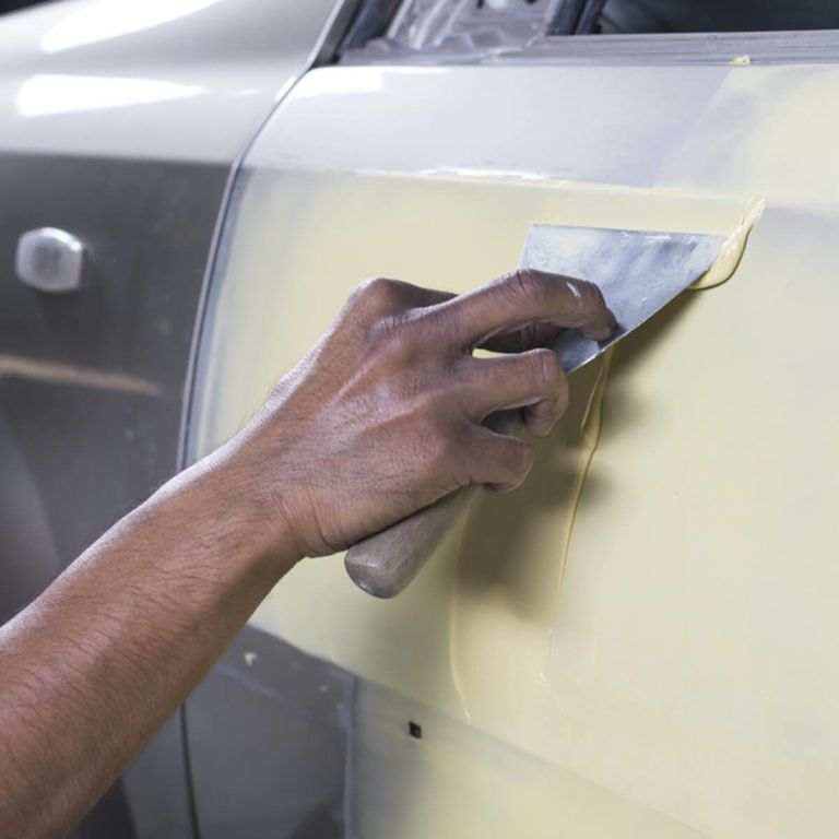 how to fix a cracked bumper at home