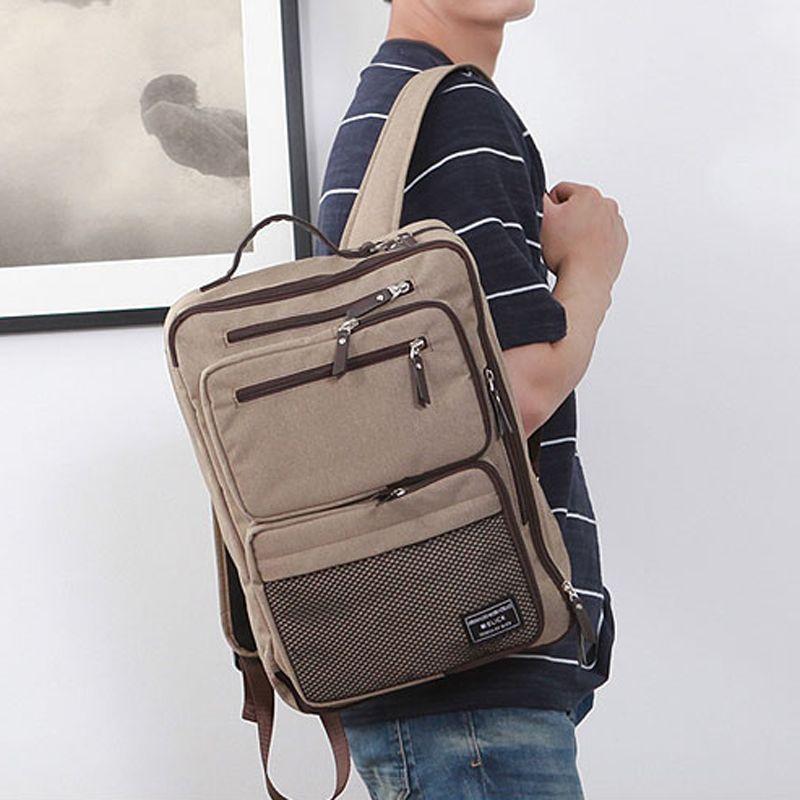 3 Way Bag Mens 15 Laptop Backpack College Bag for Men SLICK 338 ... aebc3e1faca6f