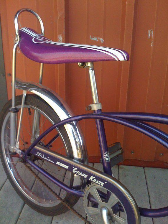 1ad250d67bd Grape Krate by Schwinn Stingray Sting Ray Purple by ModBasement ...