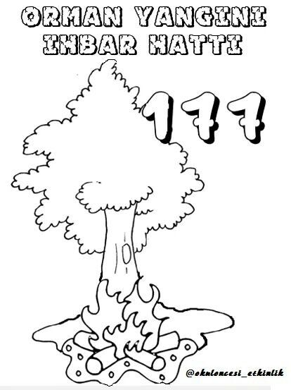 Nazik Cintosun Sever Adli Kullanicinin Orman Haftasi Panosundaki Pin Boyama Sayfalari Ormanlar Dogal Afetler