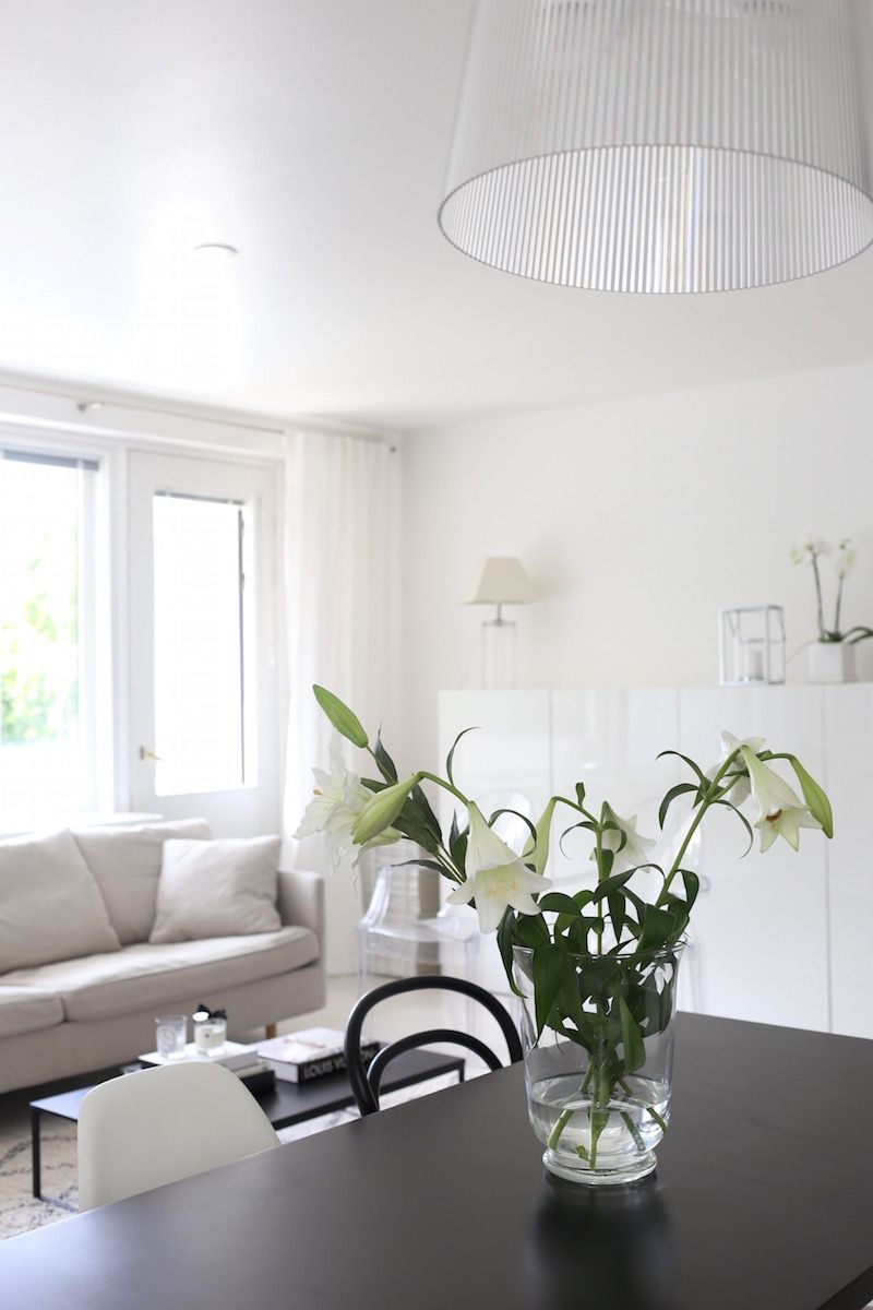 Homevialaura   livingroom   Kartell Gé   BoConcept Lugo coffee table   white linen curtains