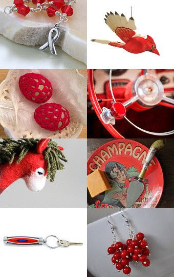 Bring back RED  treasuries  by Siskale on Etsy--Pinned with TreasuryPin.com
