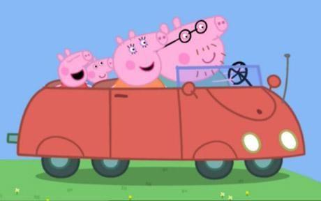 peppa pig  thomas  tank engine pig party  george pig