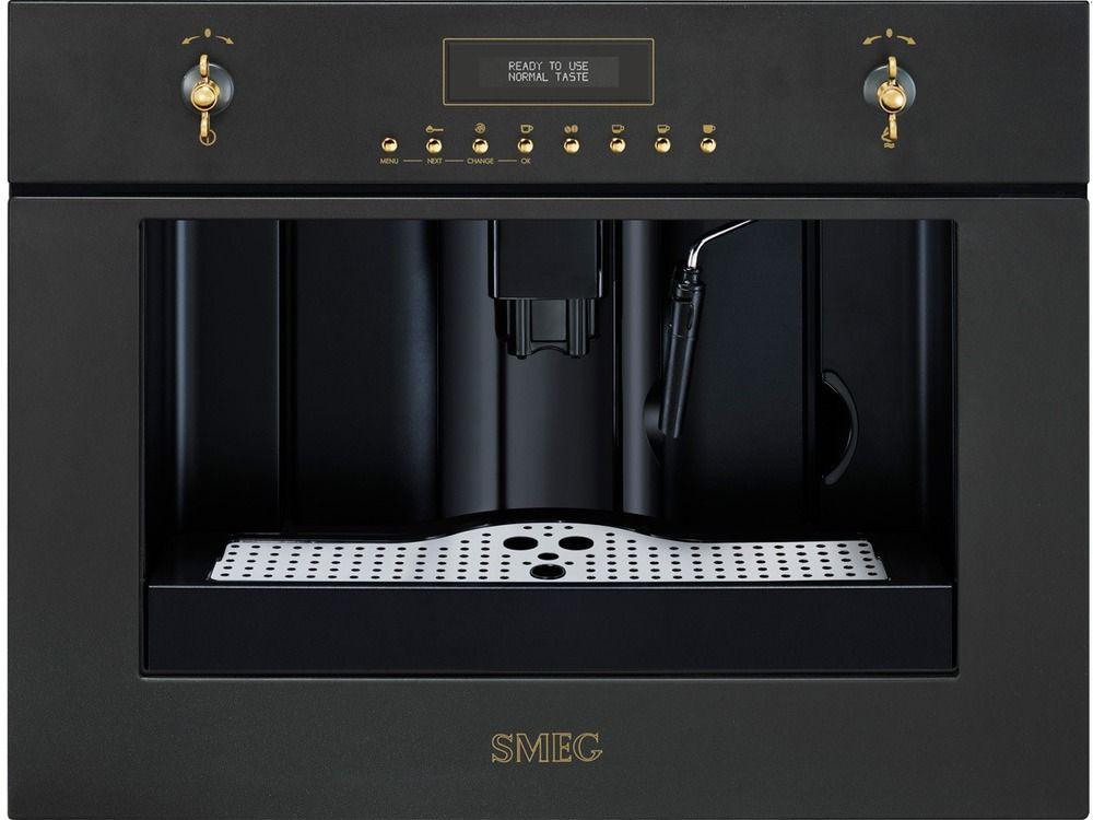 Få SMEG CM845A-9 kaffemaskine hos Skousen.dk