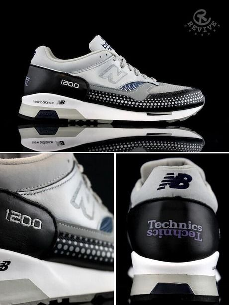 NEW BALANCE × TECHNICS 1200...HELLA HARD!!! Best Sneakers ad4d5d5ad4