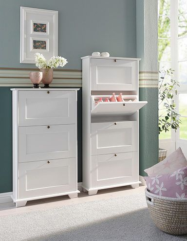 schuhschrank home affaire rustic home pinterest muebles und decoraci n de unas. Black Bedroom Furniture Sets. Home Design Ideas