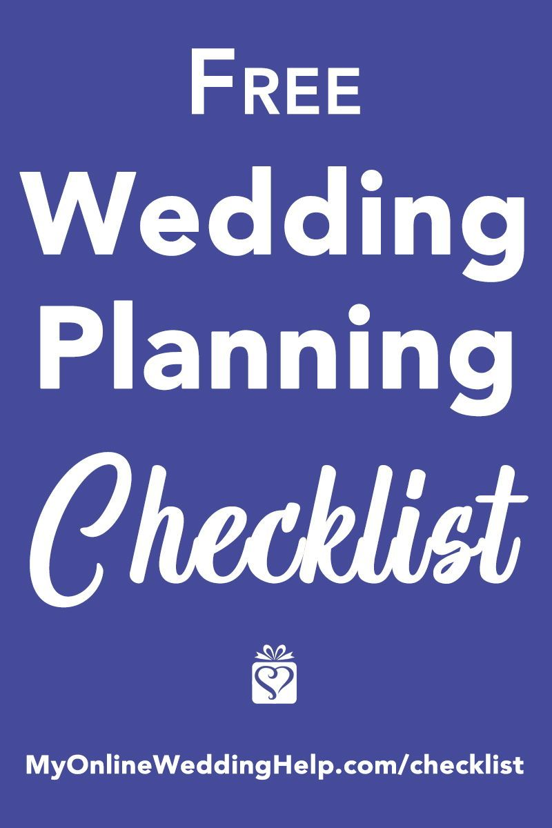 free printable wedding planning checklist helps you track and organize your wedding from engagement