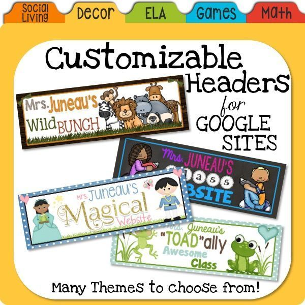 Google sites if you are wanting to make your class website cuter google sites if you are wanting to make your class website cuter than the basic header and background check out my pre made templates maxwellsz
