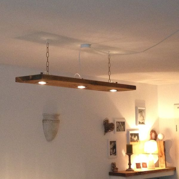 Deckenleuchte Holz  - deckenleuchte wohnzimmer design