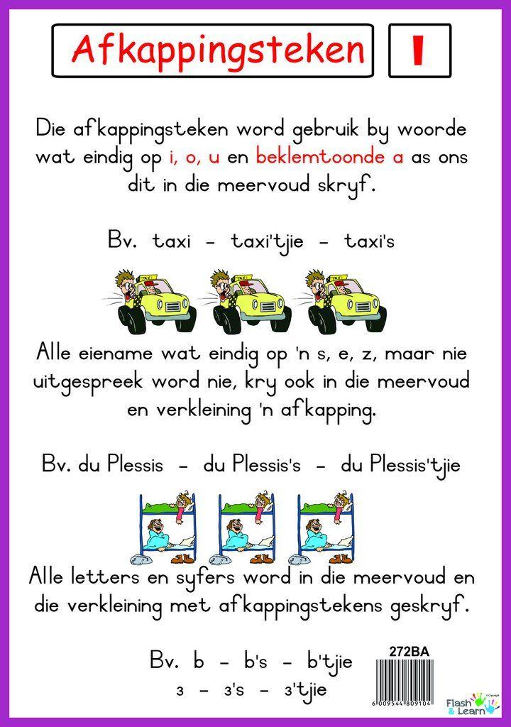 Afkappingsteken Afrikaans language, Afrikaans, Language