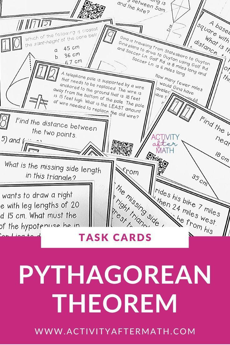 Fresh Ideas - Pythagorean Theorem Word Problems Grade 9