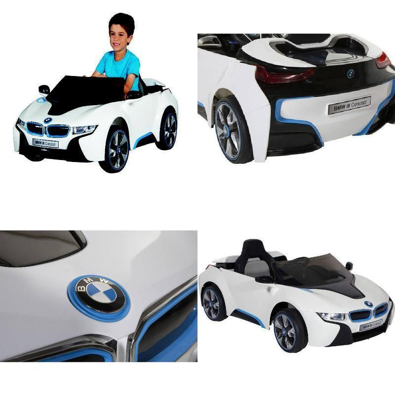 Electric Ride On Car Bmw I8 Concept 6v Battery Powered Kids