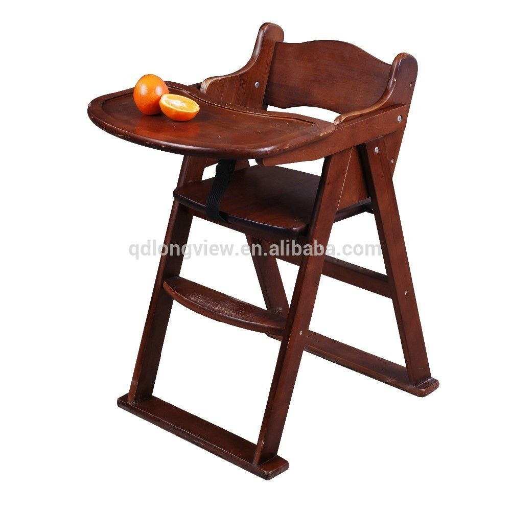 Resultado de imagen para silla de comer de madera para bebe  diseo  Madera Sillas de madera y Disenos de unas