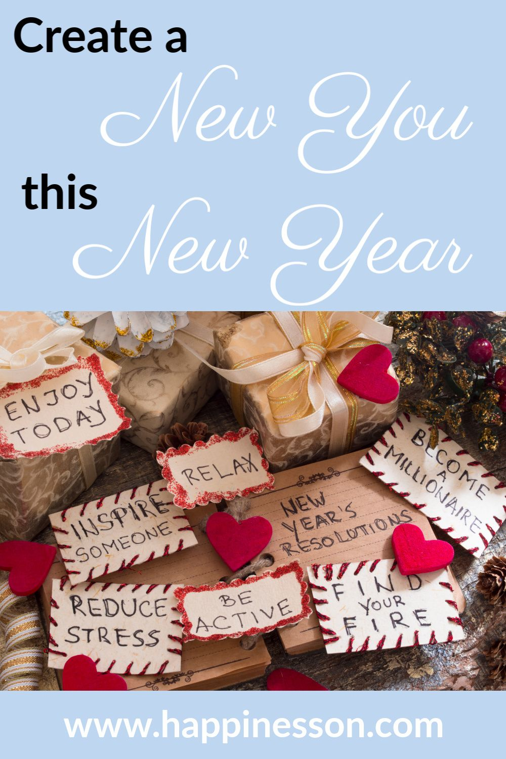 A new year signals a new beginning. Find out how new year