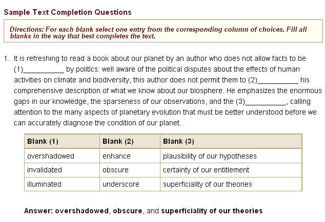 example gre essays