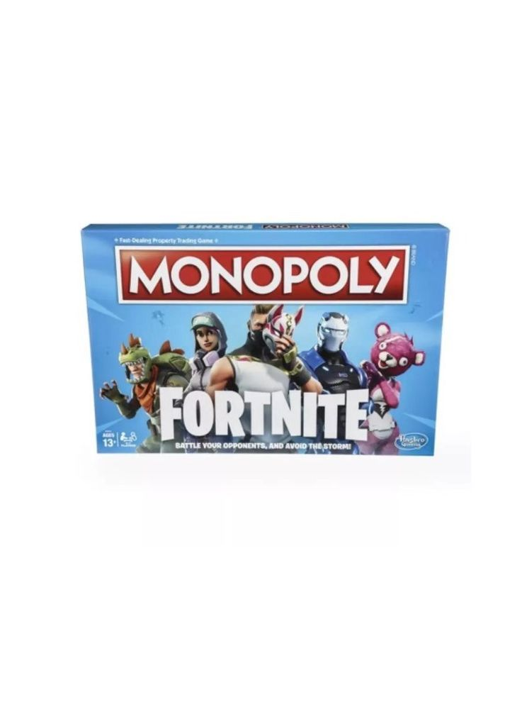 Fortnite Monopoly Edition Board Game Inspired By Fortnite Game