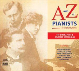 A Z Of Pianists Five Books Claudio Arrau Pianist Bookaholic