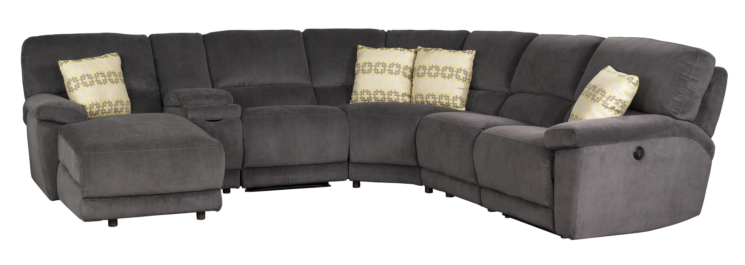 Aikman Reclining Sectional Sofa by Jonathan Louis