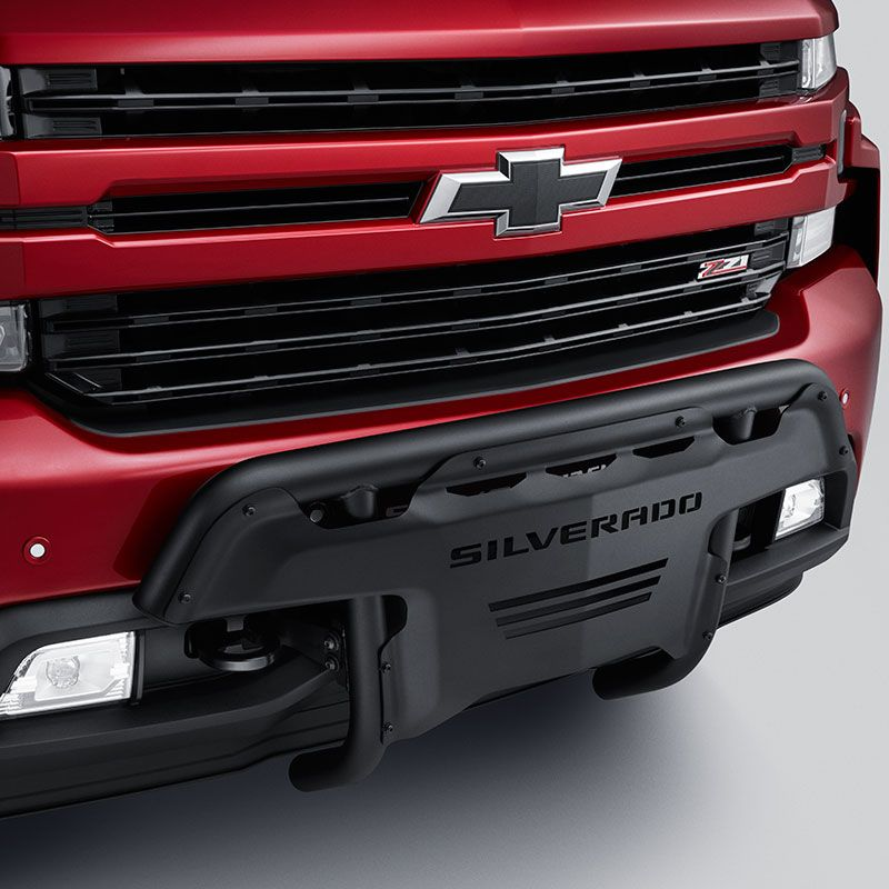 2019 Silverado 1500 Nudge Bar Or Brush Guard Black Tubular Design 84027398 Camiones Chevy Accesorios Para Camiones Accesorios Automovil