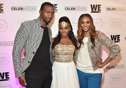 Cythia Bailey With Daughter And Actor Leon Her Daughter S Father Cynthia Bailey Daughter Bailey
