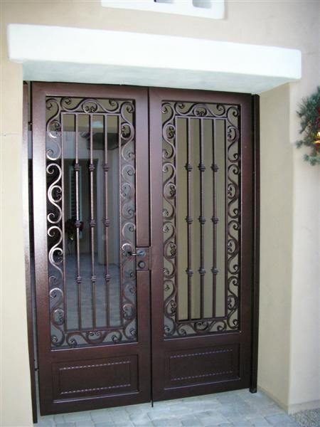 Double Security Gate 3003 Puertas Doors Security