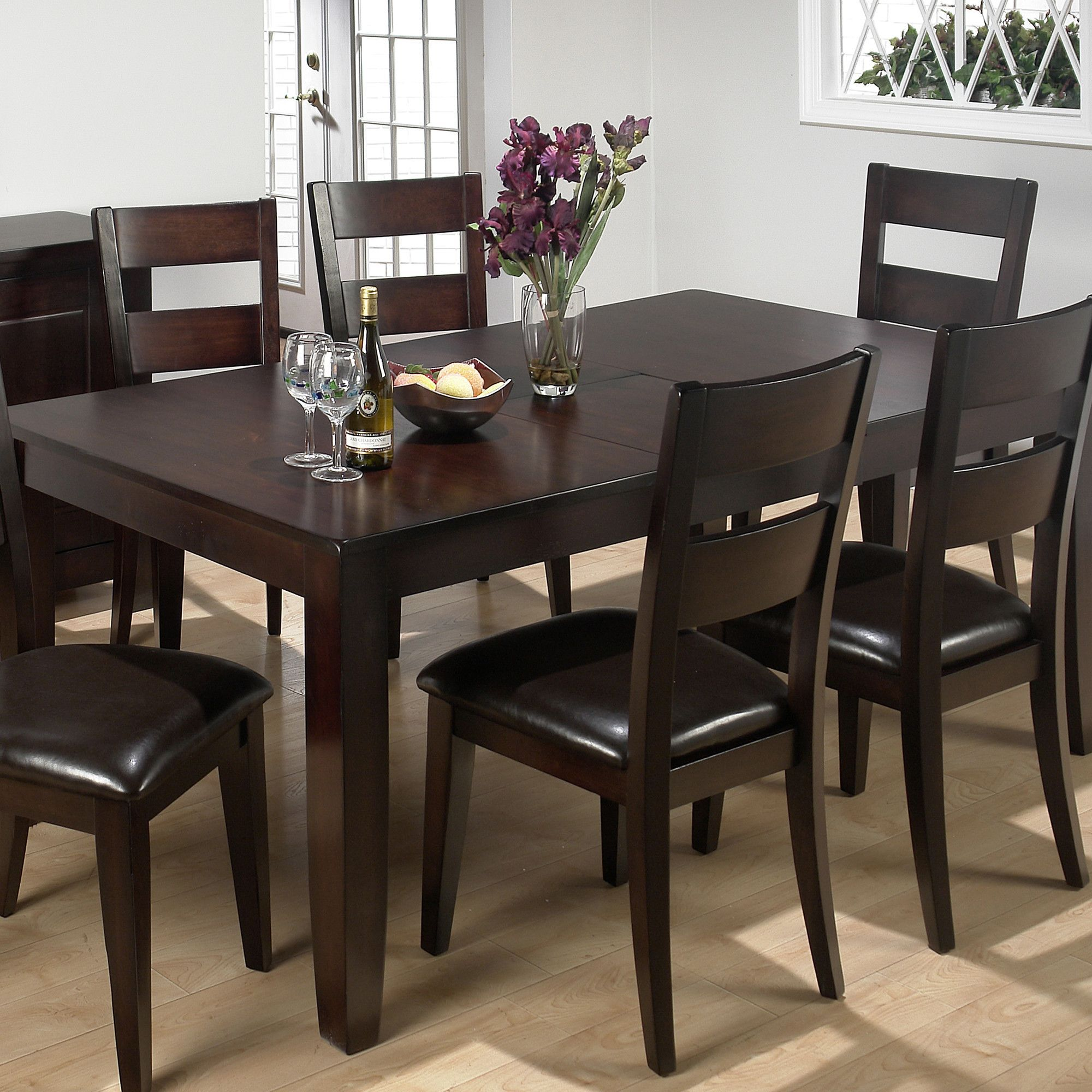 15 Small Dining Room Table Ideas Tips: Sisson Butterfly Leaf Dining Table
