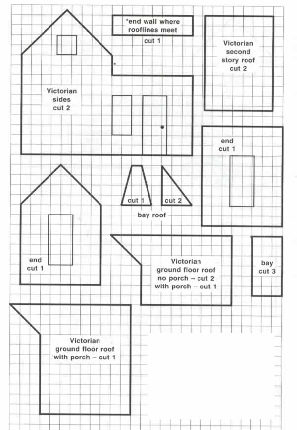 The Plan For My Gingerbread House We Ll Begin Construction On Satur Gingerbread House Patterns Gingerbread House Template Gingerbread House Template Printable