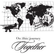 on this journey together stamp
