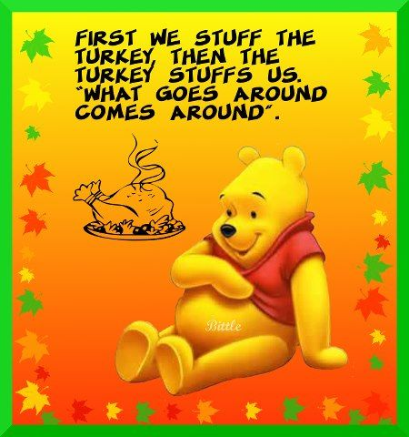 winnie the pooh thanksgiving holidaythanksgiving