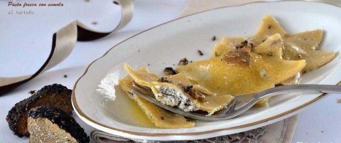Pasta fresca di semola al tartufo