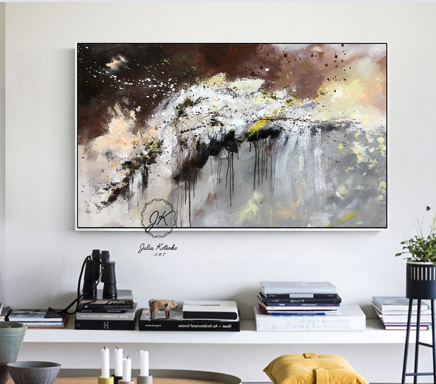 Oil Painting Handmade Painting Extra Large Painting Contemporary