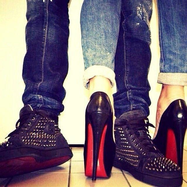 christian louboutin couple