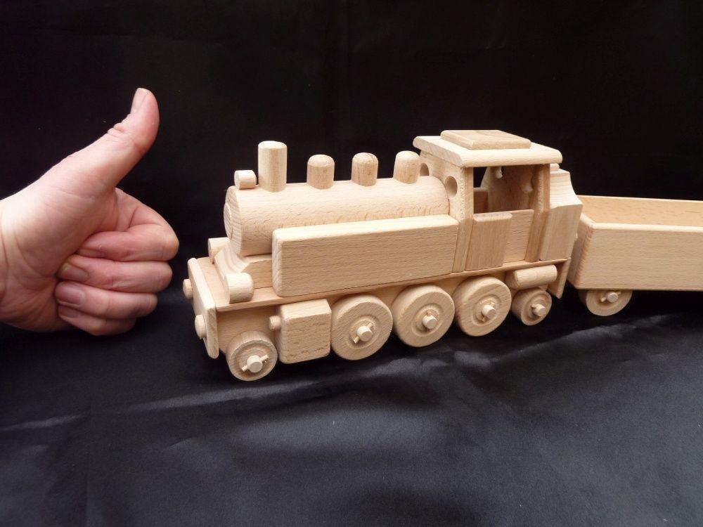 Holz Spielzeug Eisenbahn Lokomotive Fur Kinder 47 99